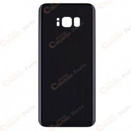 Galaxy S8 Plus Back Cover Glass - Midnight Black