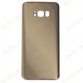 Galaxy S8 Plus Back Cover Glass - Maple Gold
