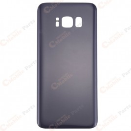 Galaxy S8 Plus Back Cover Glass - Orchid Gray