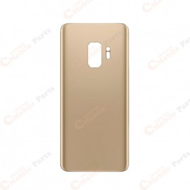 Galaxy S9 Back Cover Glass - Sunrise Gold