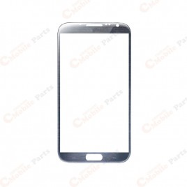 Galaxy Note 2 Front Glass Lens - Gray (2 Set)