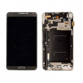Galaxy Note 3 LCD Assembly With Frame (GSM) – Black