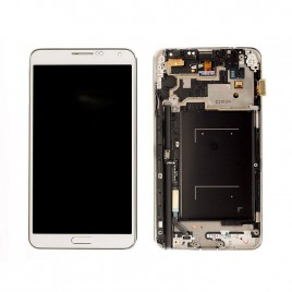 Galaxy Note 3 LCD Assembly With Frame (GSM) – White