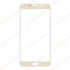 Galaxy Note 5 Front Glass Lens - Gold Platinum