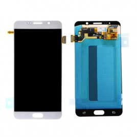 Galaxy Note 5 LCD Assembly Without Frame – White Pearl