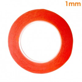 """Red Adhesive Double Sided Tape for LCD Screen (1mm / 0.04"""")"""