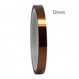 "High Temperature Heat Resistant Kapton Tape (12mm / 0.47"")"