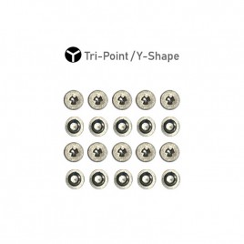 Tri-Point Y Shape Screw (20 Set) for iPhone 7 / 7 Plus / 8 / 8 Plus / X / XR / XS / XS Max