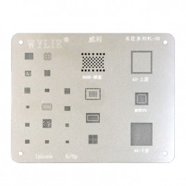Reballing Stencil Template for iPhone 6 / 6 Plus