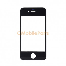 iPhone 4 / 4S Front Glass - Black
