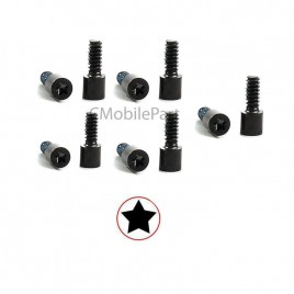 iPhone 5C Bottom Screw (10 Set) - Black