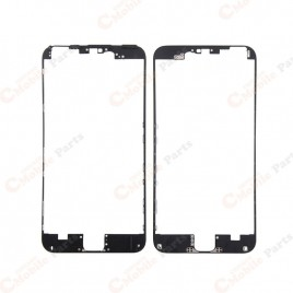Black Front Middle Frame with Glue for iPhone 6S Plus (x2)