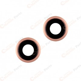 iPhone 6 / 6S Back Camera Lens - Rose Gold (2 Set)