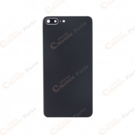 iPhone 8 Plus Back Cover with Camera Lens - Black