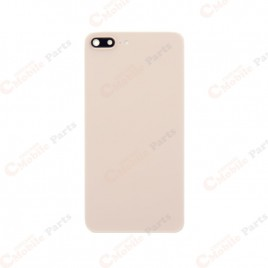 iPhone 8 Plus Back Cover with Camera Lens - Gold