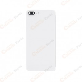 iPhone 8 Plus Back Cover with Camera Lens - White