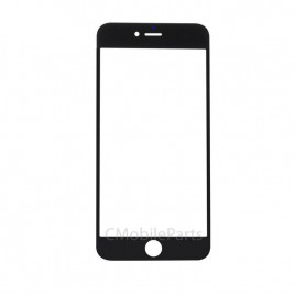 iPhone 6 Plus / 6S Plus Front Glass Lens (Premium) - Black