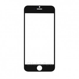 iPhone 5 / 5S / 5C / SE Front Glass (2 Set) - Black
